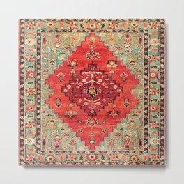 N114 - Vintage Old Antique Oriental Moroccan Artwork. Metal Print