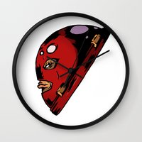xmen Wall Clocks featuring x2 by jason st paul