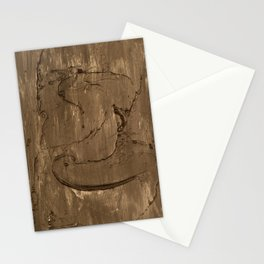 Nickel face Stationery Cards