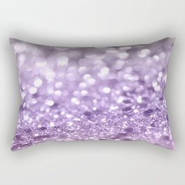 Purple Lavender Glitter #1 #shiny #decor #art #society6 Rectangular Pillow