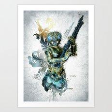 Star Wars _ 4-LOM Art Print