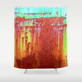 Chem Factory Drum Shower Curtain