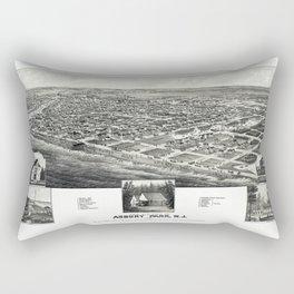 Asbury Park Map Rectangular Pillow