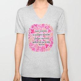 Always Remember – Pink Ombré Palette Unisex V-Neck