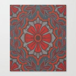 """Scarlet flower"" Canvas Print"