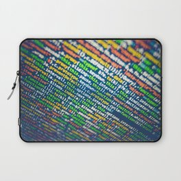 Colorful Code (Color) Laptop Sleeve