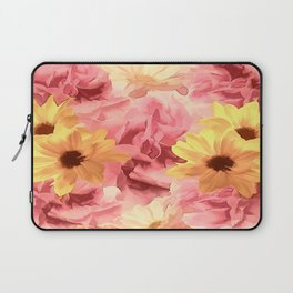 Summer Day Floral Laptop Sleeve