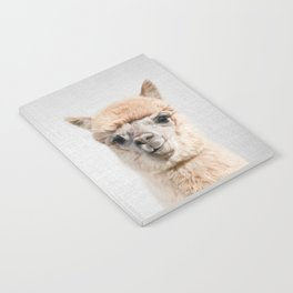 Alpaca - Colorful Notebook