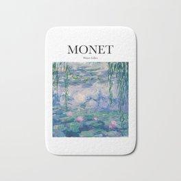 Monet - Water Lilies Bath Mat
