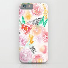 Abstract Watercolor III Slim Case iPhone 6