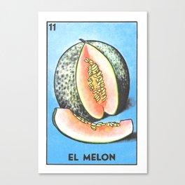 El Melon Canvas Print