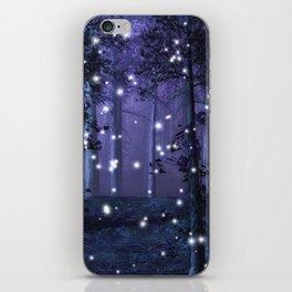 Purple Fantasy Forest iPhone Skin