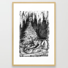 Krampus Framed Art Print