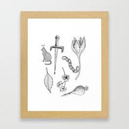 Tatts Framed Art Print