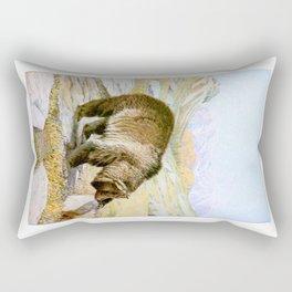 Vintage Grizzly Bear Rectangular Pillow