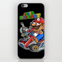 Super Fink Kart iPhone Skin