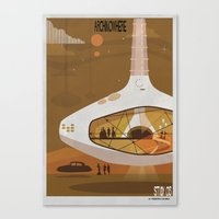 babina Canvas Prints featuring ARCHINOWHERE 013_study by federico babina