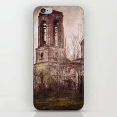 Church in ruins iPhone & iPod Skin
