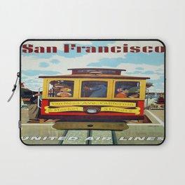 Vintage poster - San Francisco Laptop Sleeve