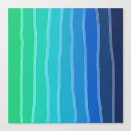 Vertical Color Tones #2 - Rainbow Collection Canvas Print