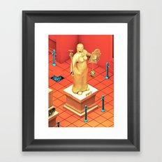 Sob Museum Framed Art Print