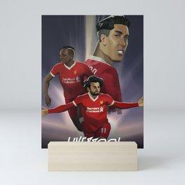Liverpool - Football Movie Poster Mini Art Print