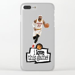Lebron Clear iPhone Case