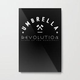 Umbrella Revolution Metal Print