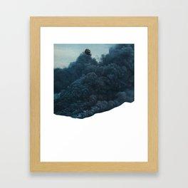 mr. smoke Framed Art Print