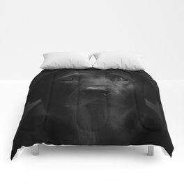 I met a girl (Black and white version) Comforters