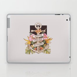 Remove everything that holds you down Laptop & iPad Skin