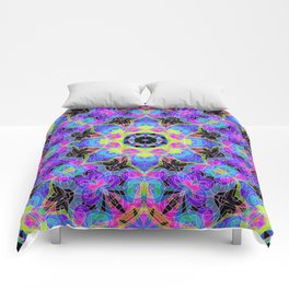 Drawing Floral Doodle G12 Comforters