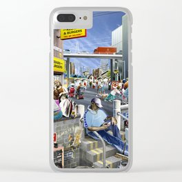 """""""Ing-ger-lund"""" Clear iPhone Case"""