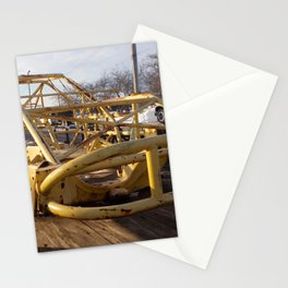 Yellow Skeleton Stationery Cards
