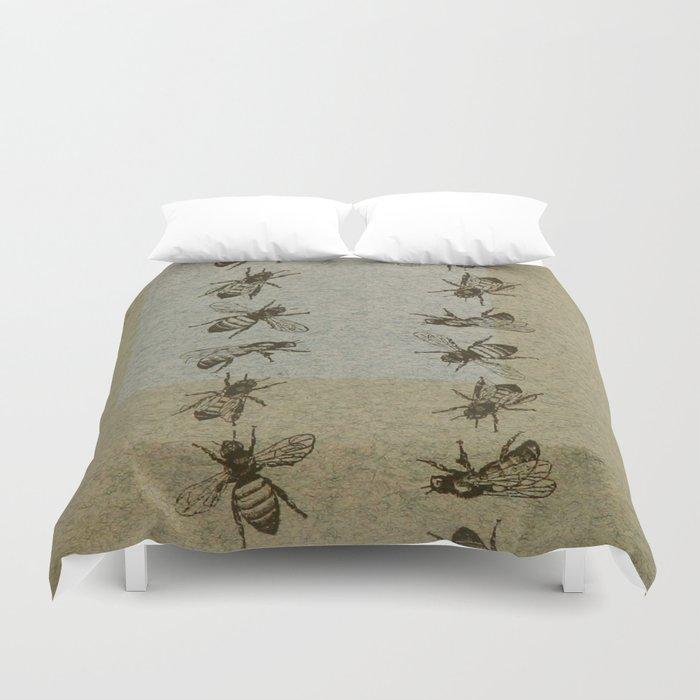 Bee Line Duvet Cover