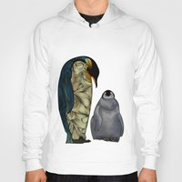 film Hoodies featuring Emperor Penguins by Ben Geiger