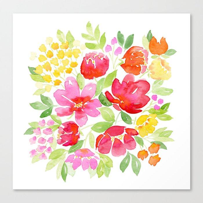 99 Red Blossoms Leinwanddruck