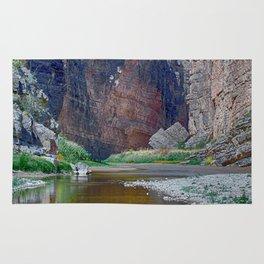 Rio Grande at Santa Elena Canyon Rug