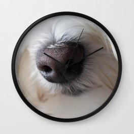 Sweet Little Sniffer Wall Clock