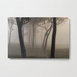 Ebeneezer trees Metal Print