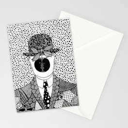 The son of man. Magritte Stationery Cards