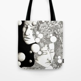 Troubled and peaceful sleep Tote Bag