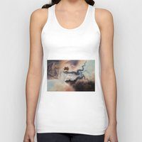 wind Tank Tops featuring Wind by Erica Wexler