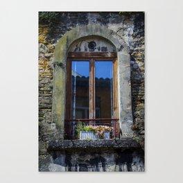 Lyon Windowbox Canvas Print