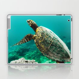 Snorkeling with Turtles. Laptop & iPad Skin