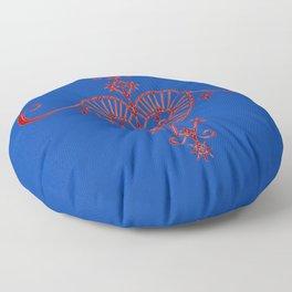 Voodoo Symbol Erzulie Floor Pillow