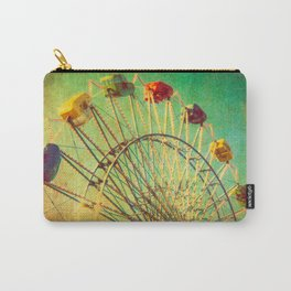 The Unbearable Elation of Summer carnival ferris wheel  Carry-All Pouch