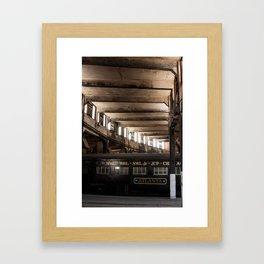 Atlanta Train Framed Art Print