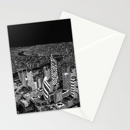London in BW Stationery Cards