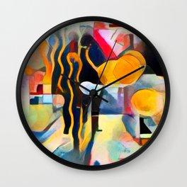 City Life II Wall Clock